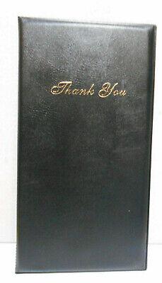 Lot Of 60 Guest Check Card Holder Presenter Restaurant Server Bill Book - Black
