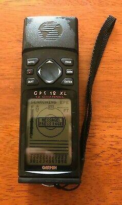 Garmin GPS 12XL  Channel Handheld Personal Navigator. Tested. Free Shipping