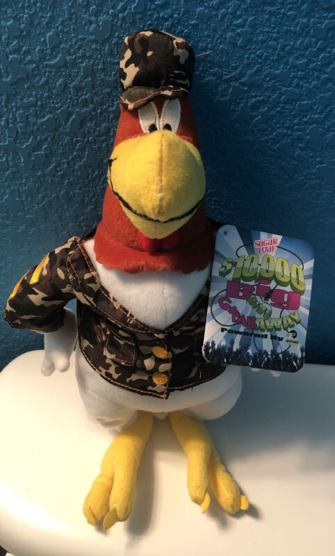 Plush Foghorn Leghorn Military Camouflage Sugarloaf with original tag