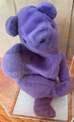 "Ty Beanie Buddy Teddy /""old Face/"" Bear 3rd Gen 2000 Jade Green for sale online"