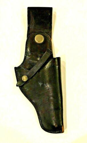 JAY-PEE Black Leather Gun Holster