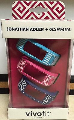 Купить JONATHAN ADLER & Garmin VIVOFIT JONATHAN ADLER & Garmin VIVOFIT - 3 NEW Garmin Vivofit Fitness Assessment Monitor Bands - Jonathan Adler: Acapulco