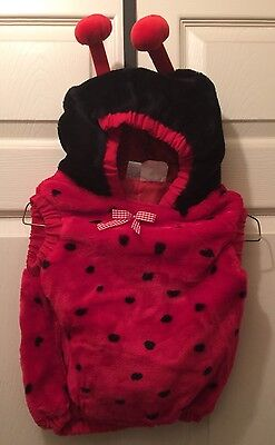 TODDLERS LADYBUG VEST 12-24 MONTH  OLD- COMPLETE WITH SPOTS AND ANTENNA](24 Month Old Costumes)
