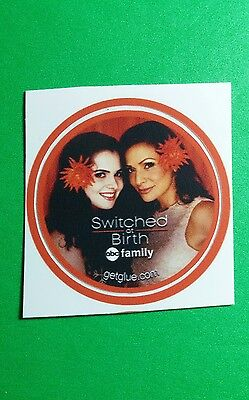 Switched At Birth Flowers In Hair Smile Tv Getglue Get Glue Sm 1 5  Sticker
