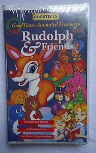 Rudolph and Friends (1994, Video, VHS Format) Clamshell Brand New Factory Sealed