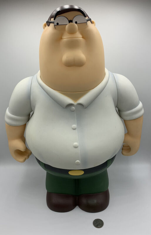 MEZCO FAMILY GUY DELUXE TALKING PETER GRIFFIN 18 INCH FIGURE