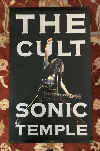 THE CULT  Sonic Temple  rare original promotional poster