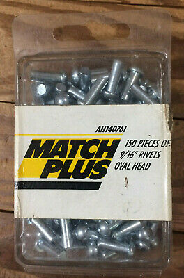 Match Plus 150 Pieces Of 916 Rivets Oval Head Ah140761