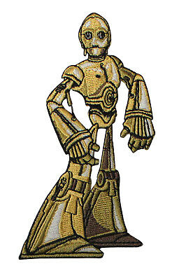 Star Wars C3PO Embroidered Iron On Patch - Robot Droid Officially Licensed 134 for sale  Dacula