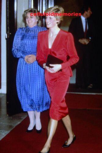 Original 35mm Slide Vintage Princess Diana Lady Spencer # 137