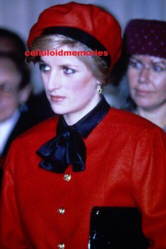 Original 35mm Slide Vintage Princess Diana Lady Spencer # 140
