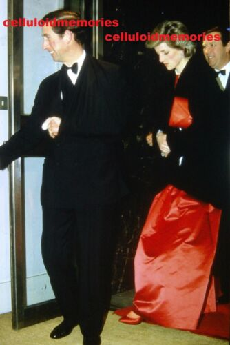 Original 35mm Slide Vintage Princess Diana Lady Spencer # 128 Prince Charles