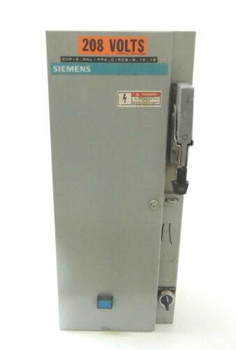 Used Siemens Motor Controller Starter SCFD12 Nema Size 2
