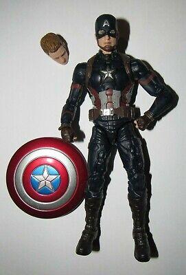 "Marvel Legends 6"" figure Captain America from Crossbones Studios 2 pack complete"