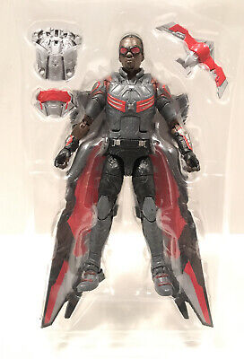 "Marvel Legends 6"" FALCON Wal-Mart EXC Sam Wilson The Avengers Civil War COMPLETE"