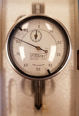 Fowler 52-520-110 1 Range .001 Grad Dial Indicator 5a-c0015