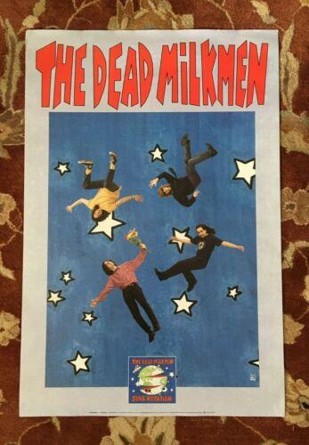 THE DEAD MILKMEN  Soul Rotation  rare original promotional poster  PUNK