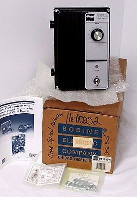 BODINE ELECTRIC COMPANY 815 ADJUSTABLE SPEED/TORQUE CONTROL DC MOTOR CONTROL