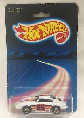 Hot Wheels Porsche P-911 Turbo #3969 NEW SEALED 1986 White 1:64 GREAT SHAPE RARE