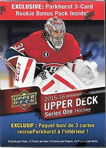 2015/16 UPPER DECK HOCKEY BOXES  mcdavid yg ????