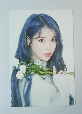 "IU Official Limited Postcard - Official New 2019 IU Tour Concert ""Love, Poem"""