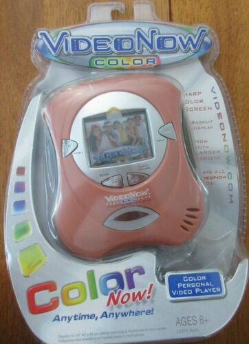 Video Now Color Personal Video Player Hasbro Tiger 2004