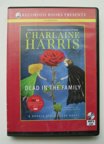 Dead In the Family by Charlaine Harris UNABRIDGED MP3 CD audiobook