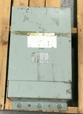 Hammond 10 Kva Single Phase Dry Type Transformer 120240 L.v. 240480 H.v
