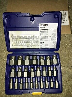 Irwin Tools 53227 25 Piece Hex Head Multi-spline Screw Extractor Set 18-78 Nib
