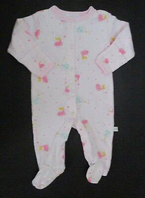 INFANT GIRLS ROSIE POPE PINK & GREEN FAIRY FOOTIE OUTFIT SIZE 0-3 MONTHS](Green Fairy Outfit)