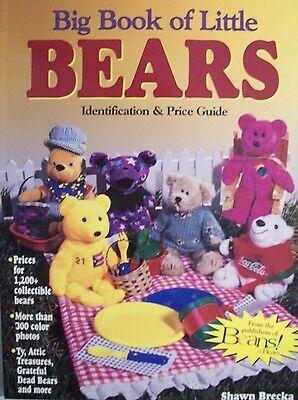MINI TEDDY BEARS PRICE VALUE GUIDE BOOK Plus Mini Dogs & Cats Stuff Animals