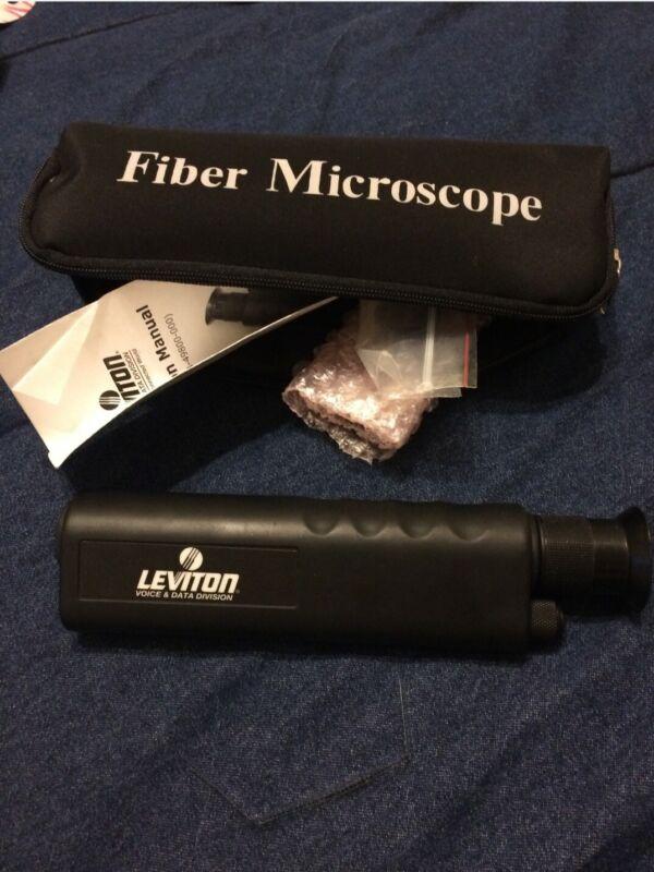 leviton fiber microscope