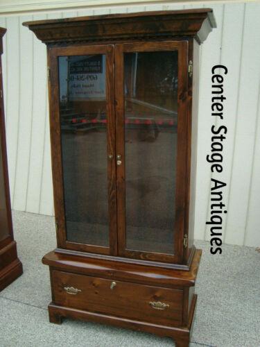 60419 Solid Pine Gun Cabinet Storage Chest