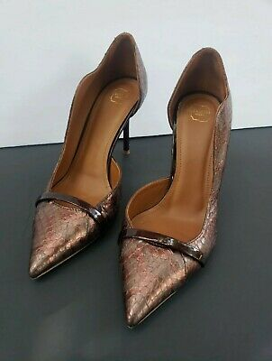 Malone Souliers Morrissey Wave Asymmetrical Pump Size 7.5
