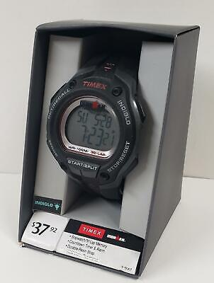 TIMEX Ironman Classic 30 Oversized Men's Watch Black Silver Red T 5K417 WX