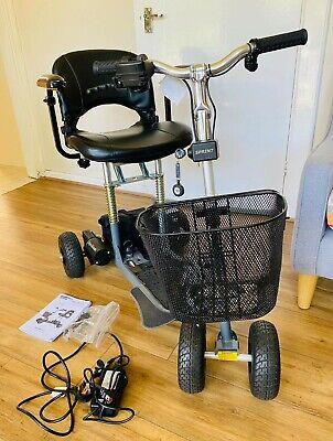 SupaScoota Sprint Mobility lightweight folding scooter. Max weight 125kg