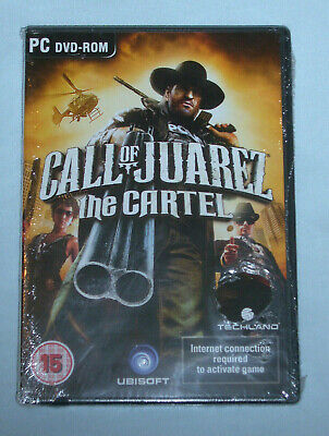 CALL OF JUAREZ THE CARTEL PC DVD-ROM New & Sealed