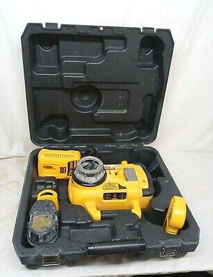 Dewalt Dw079 18v Self Leveling Red Rotary Laser Level Kit