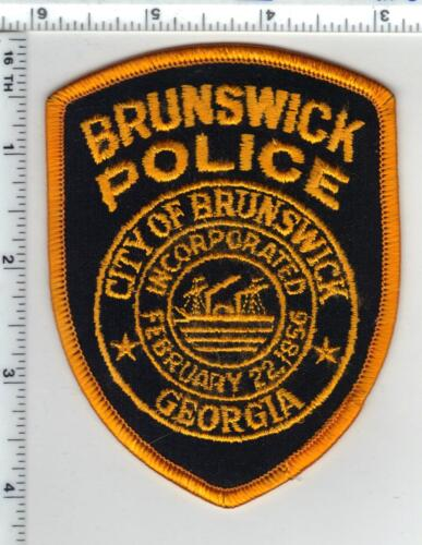 Brunswick Police (Georgia) Shoulder Patch - new from 1990