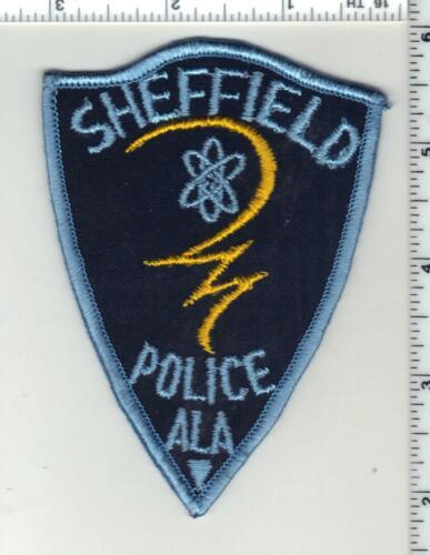 Sheffield Police (Alabama) 1st Issue Shoulder Patch