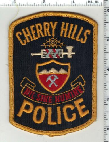 Cherry Hills Police (Colorado) 1st Issue Uniform Take-Off Shoulder Patch