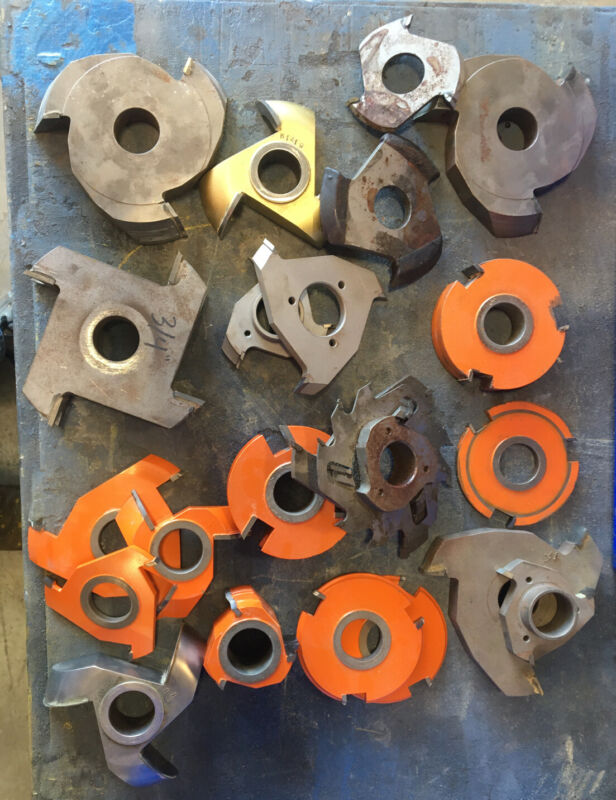 Milling Quality parts for Industrial Woodworking machine . Good Mix.