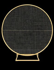 FOR SALE Gold Round Mesh Backdrop Leonay Penrith Area Preview