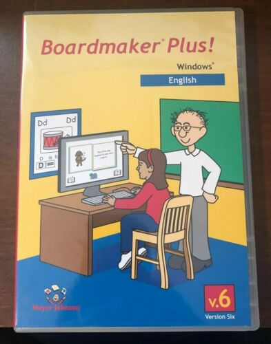 BoardMaker Plus! V.6 Version 6 for Windows [CD-ROM] Mayer-Johnson ENGLISH