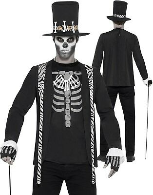 Adult Witch Doctor Costume Voodoo Halloween Mens Fancy Dress Outfit