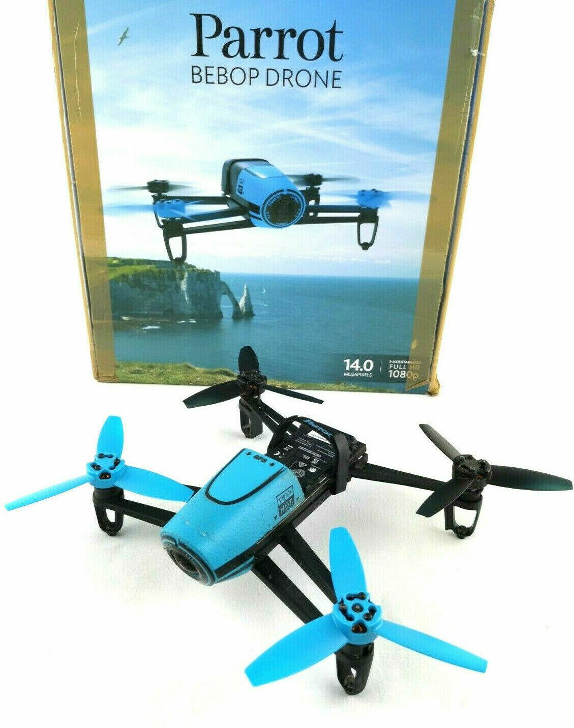 Parrot Bebop Drohne mit Full HD Kamera in blau