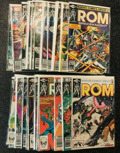 Marvel Rom Spaceknight You Pick Choose Bronze Copper 1-75 see other you picks