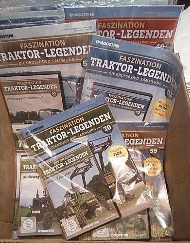 Faszination Traktor Legenden DVD´s - 1-80  zum selber aussuchen, De Agostini