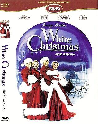 White Christmas (1954) Bing Crosby / Danny Kaye DVD NEW *FAST SHIPPING*