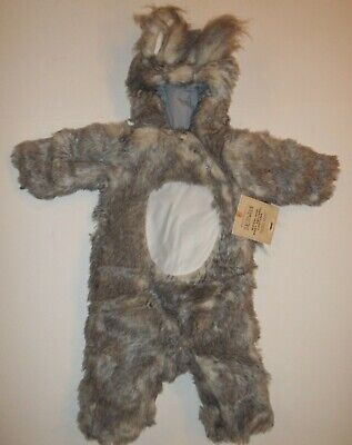 Pottery Barn Kids Baby Woodland Gray Squirrel Halloween Costume 0 - 6 Month #659](Halloween Squirrel Costume)